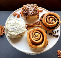 Old-Fashioned with our butter cream cheese frosting, Pecan, Raisin and Old-Fashioned without frosting