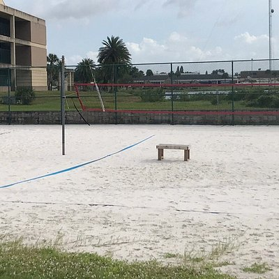Beach Volleyball Court (not on the beach)