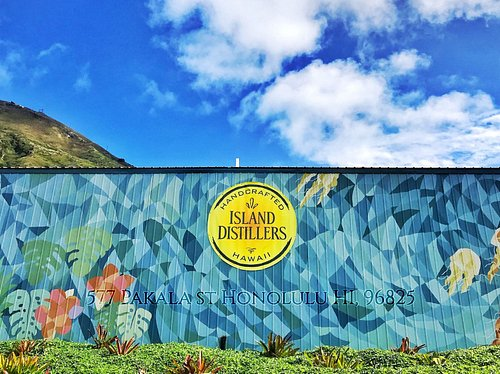 Island Distillers. Spirits made right here in Hawaii!