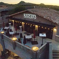 Gatsbys! Located in the commercial center at the corner of Dynamite & Alma School Pkwy in the Troon area of North Scottsdale.