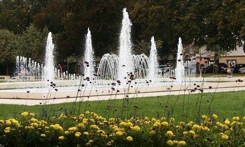 hlavní fontána