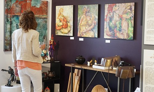 Discover various mediums by various local artists