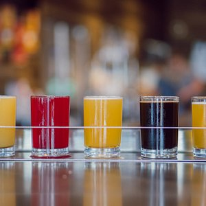 Enjoy a flight and try a number of beers at once.