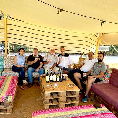 All the owners of the Domaine joined us at the Wine Tasting!