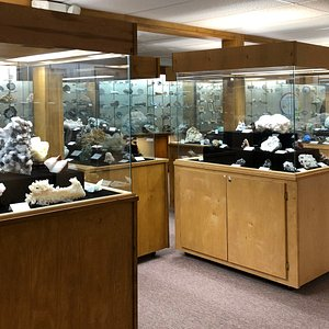 The Mineral Room has specimens and displays that rival even the largest museums.