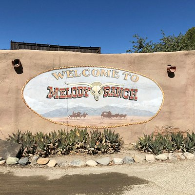 Entrance to Melody Ranch Motion Picture Studio