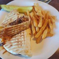 Short rib panini