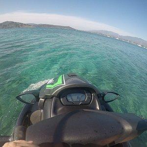 Sortie jusqu'à la baie de saint cyprien