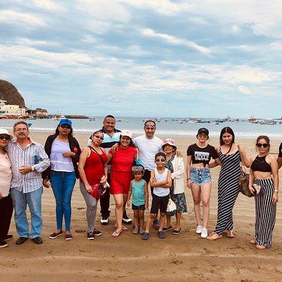 En la bahía de San Juan del sur Nicaragua