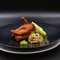 Tandoori ChickenCombination of chicken supreme & leg, yoghurt marinade, home grown sprout salad