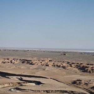 Gandom Beryan, Lut Desert