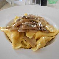 Tortelli di patate ai funghi porcini, un'esplosione di sapori