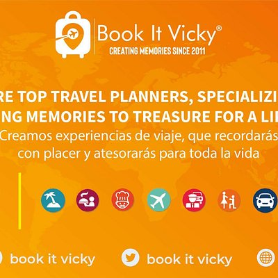 Book it Vicky services banner