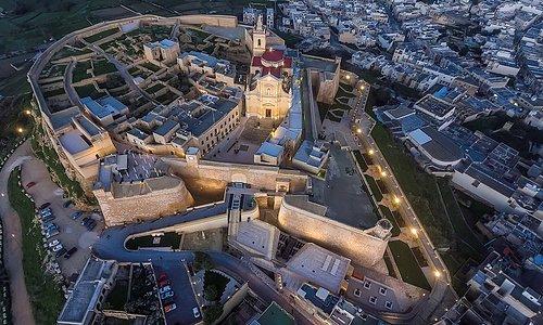 Cittadella Aerial View ( photo: Daniel Cilia)
