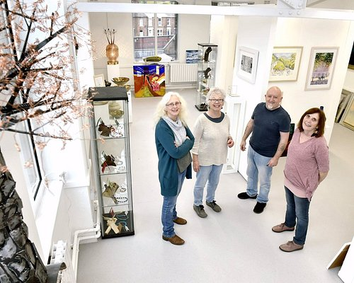 A fine Gallery in a new and popular part of Carlisle. Well worth a visit.
