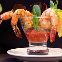 Grilled Shrimp Cocktail is out of this world!