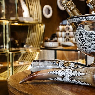 Decorative accessories, barware, jewellery. All designed and made at Avoova's workshops in the Karoo, Western Cape