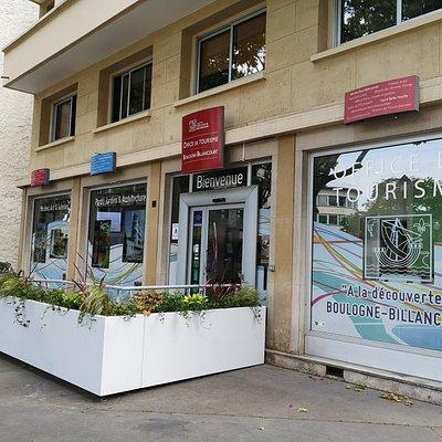 Devanture de l'Office de Tourisme depuis juillet 2019