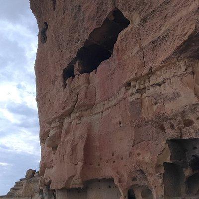Genel kaya yapısı-Kapadokya gibi
