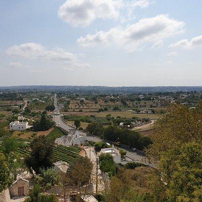 Widok na Martina Franca