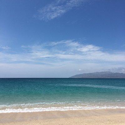 Vista a la Isla Cerralvo.