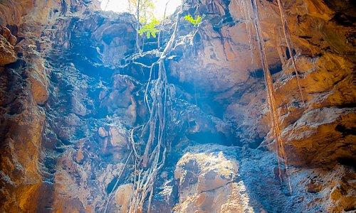 Tham Khao Luang Cave Caverns Ray of Light Phetchaburi