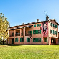 Pavarotti Home Museum as seen from the expansive gardens
