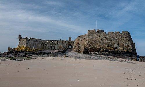 The entrance to Elizabeth castle
