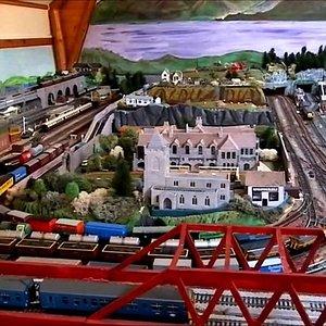 Model railways garrison house