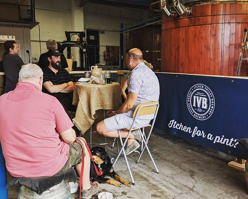 A photo from one of the first Beers in The Brewhouse before we extended our tap room :)