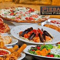 View our menu at https://piesanostogo.com/