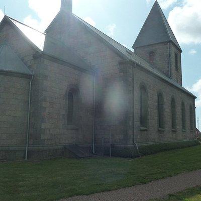 Kirken - mod syd