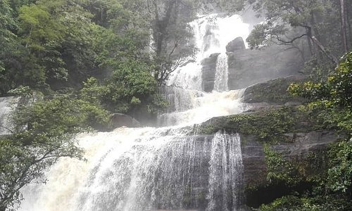 Bedawant Waterfall in Serimbu, West borneo