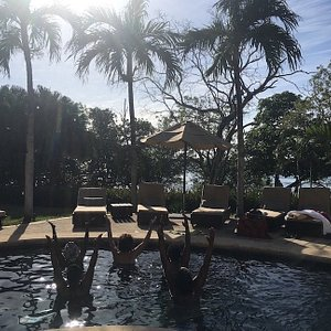 AquaYoga at a vacation villa near Tamarindo, Costa Rica