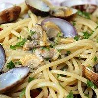 Spaghettone con le vongole