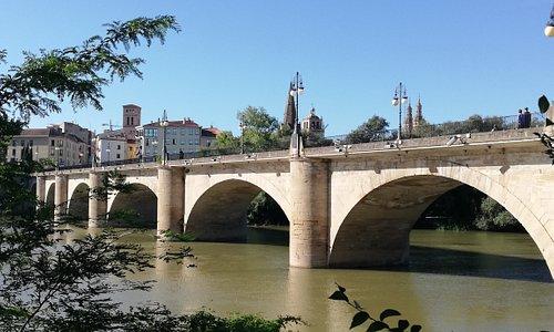 Il Puente de Pedra a Logrono