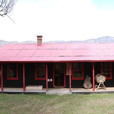 El Museo Rural Pioneros del Baker se encuentra en la casa del Sr. Lancaster, un antiguo administrador de la Estancia Valle Chacabuco.