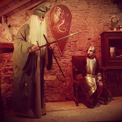 Merlin conte la légende du Val sans Retour