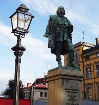 The statue of Engelbrekt Engelbrektsson