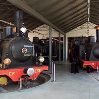 Rolling back the years at the railway museum in Braganca