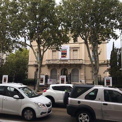 Fassade Hotel Départemental des Art, Toulon