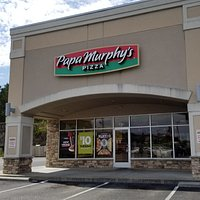 front of & entrance to Papa Murphy's Take 'N Bake Pizza