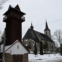 Kosciol Sw. Elzbiety Wegierskiej w Trybszu - nowy kościół