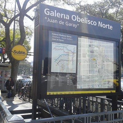 Galerìa Obelisco Norte Juan de Garay: Microcentro- Bs.As. 2019.