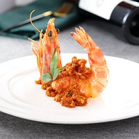 Seared Jumbo Prawn in Sweet Chili Sauce