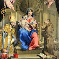 La tela del 1610 del Visaccio