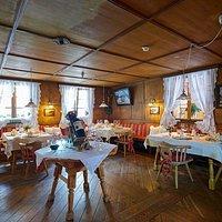 """Genussvoll speisen Gourmet-Restaurant Krone-Stuben in Romantik Hotel """"Die Krone von Lech"""""""
