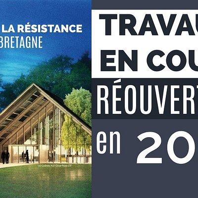 Travaux Musée Résistance Bretagne