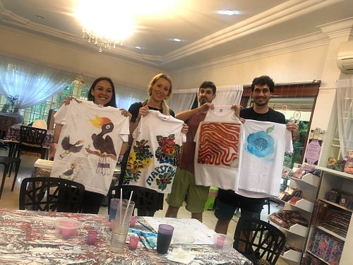 design your own t shirt with Canting ( free hand drawing )