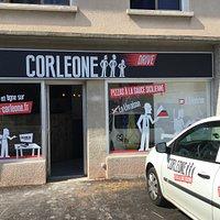 Avec Corleone Romans, découvrez notre Pizza Drive : commandez et choisissez de vous faire livrer, ou à emporter.